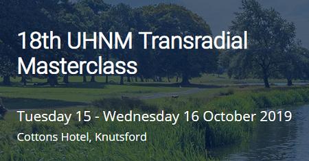 18th UHNM Transradial Masterclass 2019