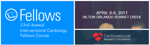 23rd Annual Interventional Cardiology Fellows Course 2017 | AER Journal