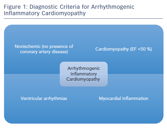 Figure 1: Diagnostic Criteria for Arrhythmogenic Inflammatory Cardiomyopathy