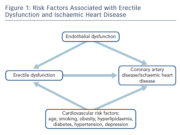 Risk Factors Associated with Erectile Dysfunction and Ischaemic Heart Disease