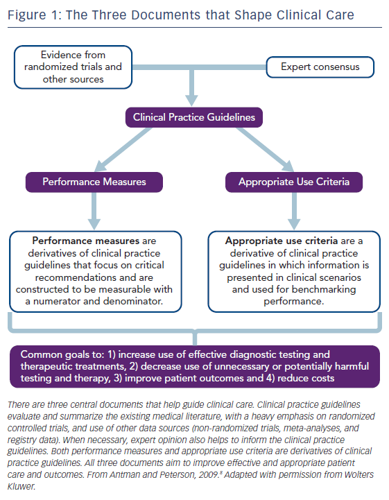 Figure 1: The Three Documents that Shape Clinical Care