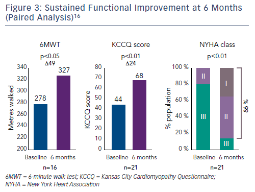 Figure 3: Sustained Functional Improvement at 6 Months (Paired Analysis)