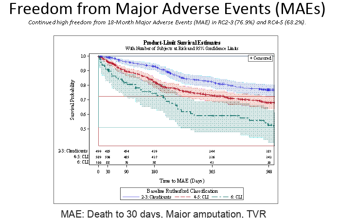 Freedom From Major Adverse Events