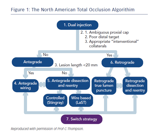 Figure 1: The North American Total Occlusion Algorithim