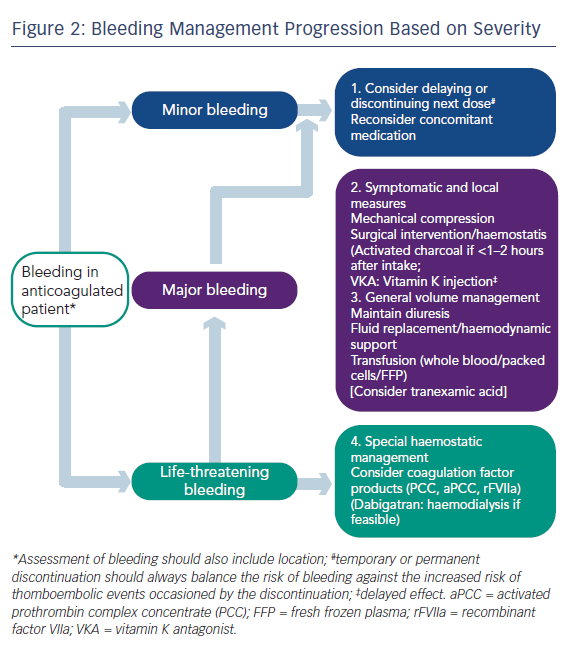 Figure 2: Bleeding Management Progression Based on Severity