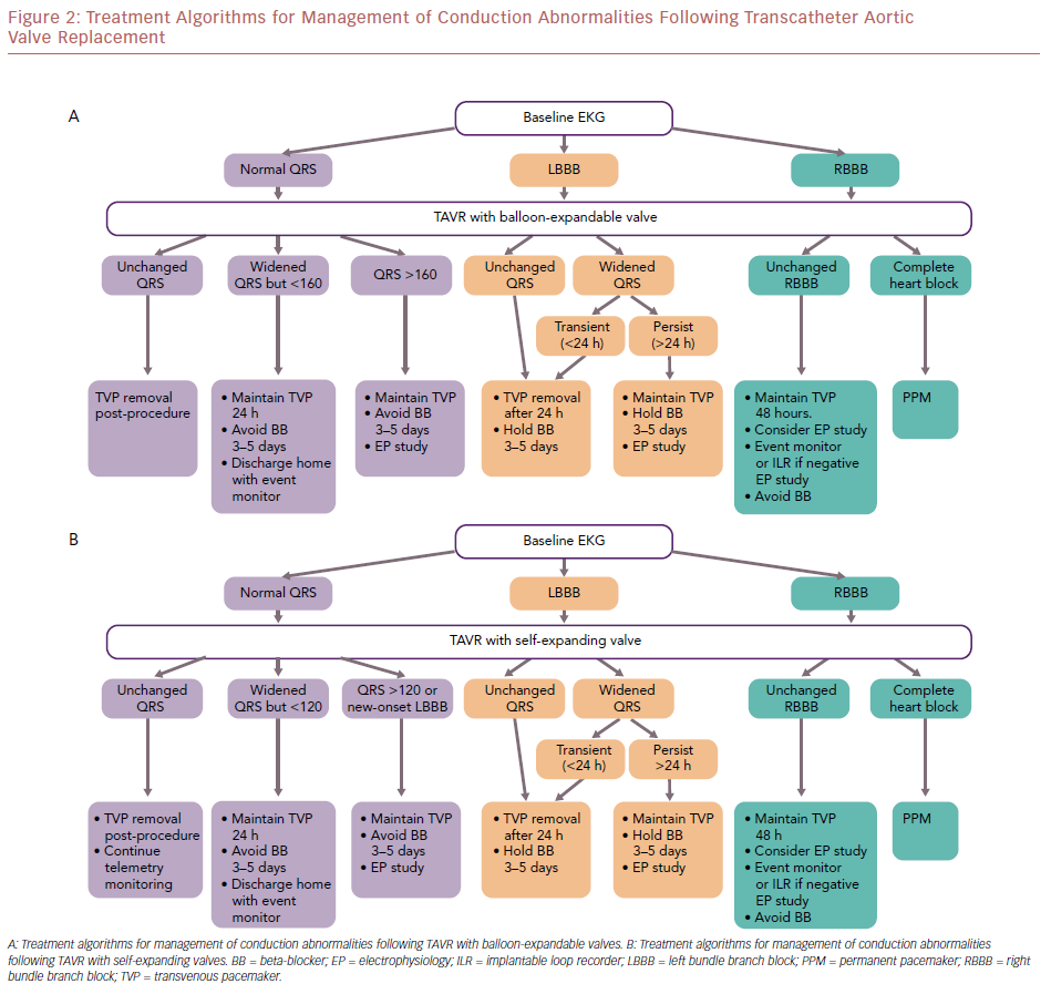 Treatment Algorithms For Management Of Conduction Abnormalities