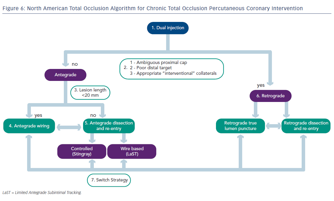 North American Total Occlusion Algorithm