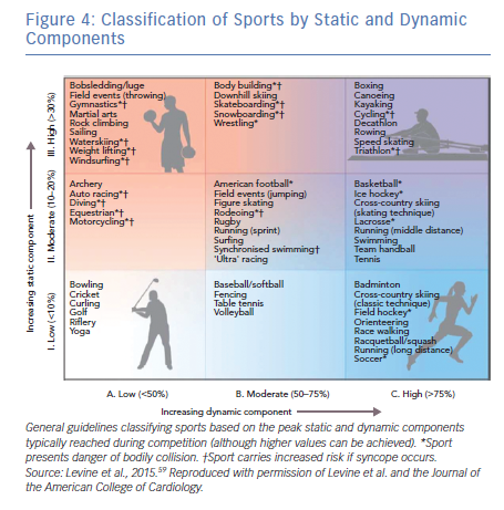 Classification of Sports by Static and Dynamic Components