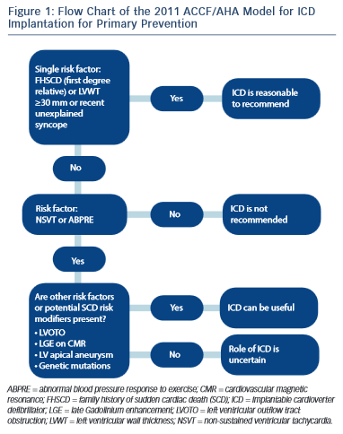 Flow Chart of the 2011 ACCFAHA Model