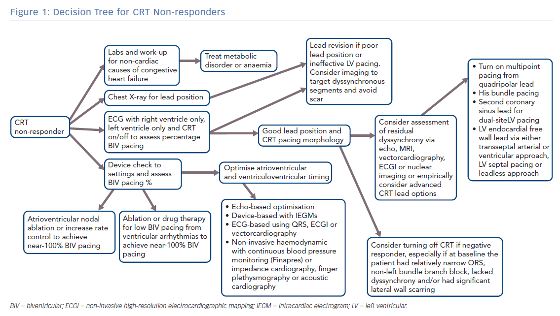 Decision Tree for CRT Non-responders