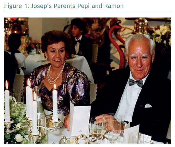Josep's Parents Pepi and Ramon