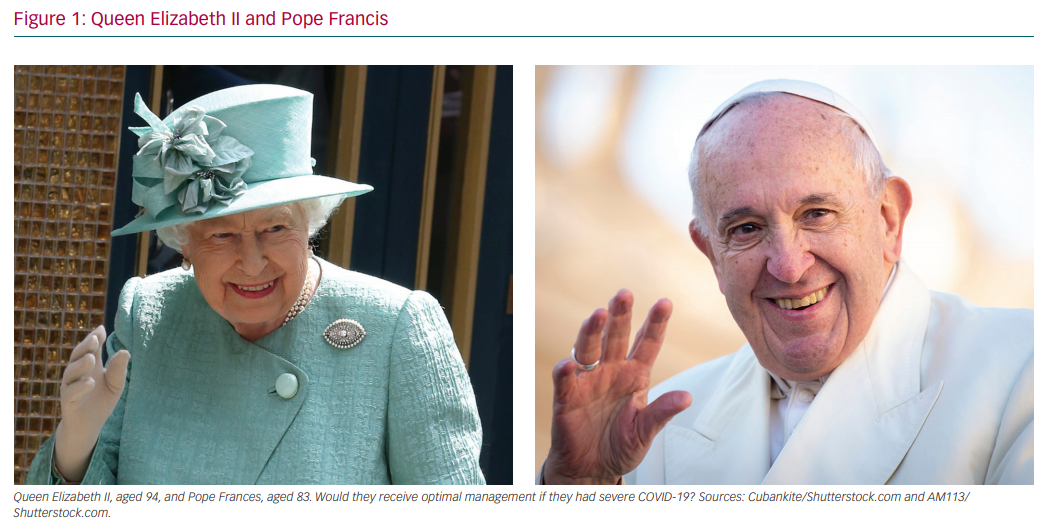 Queen Elizabeth II and Pope Francis