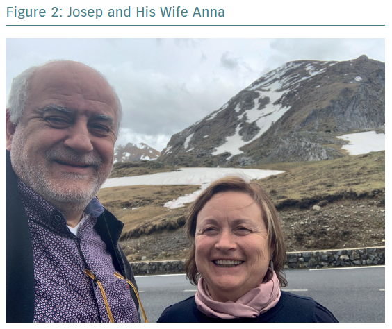 Josep and His Wife Anna