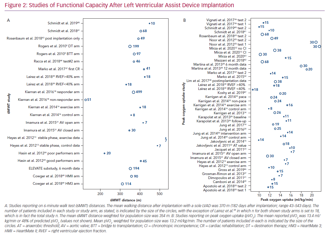Studies of Functional Capacity After Left Ventricular