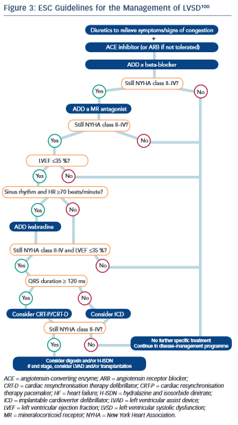 ESC Guidelines for the Management of LVSD100