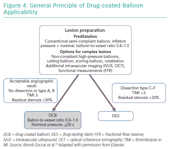 General Principle of Drug-coated Balloon Applicability