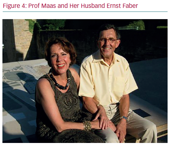 Prof Maas and Her Husband Ernst Faber