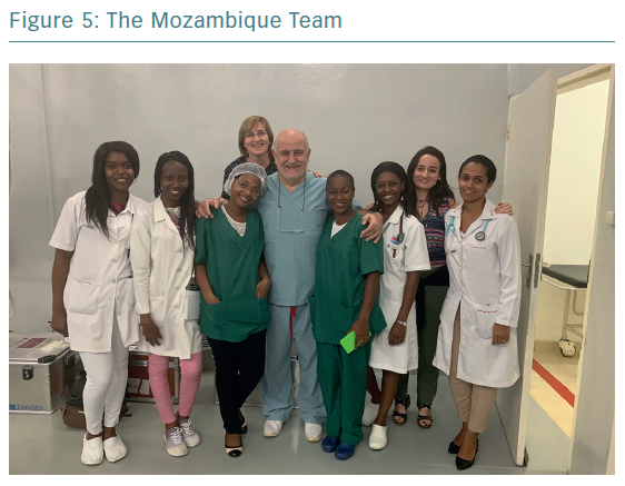 The Mozambique Team