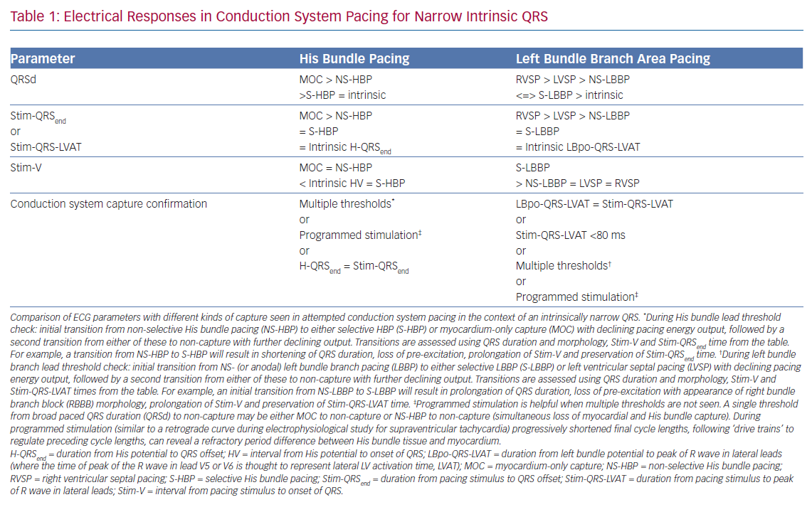 Electrical Responses in Conduction System