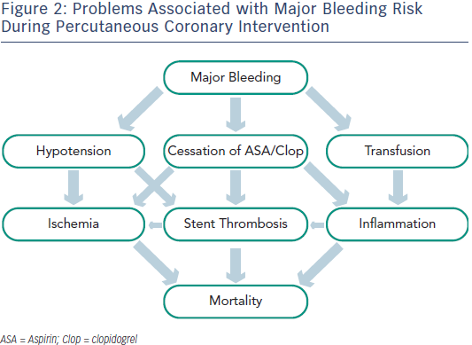 Problems Associated with Major Bleeding Risk During Percutaneous Coronary Intervention