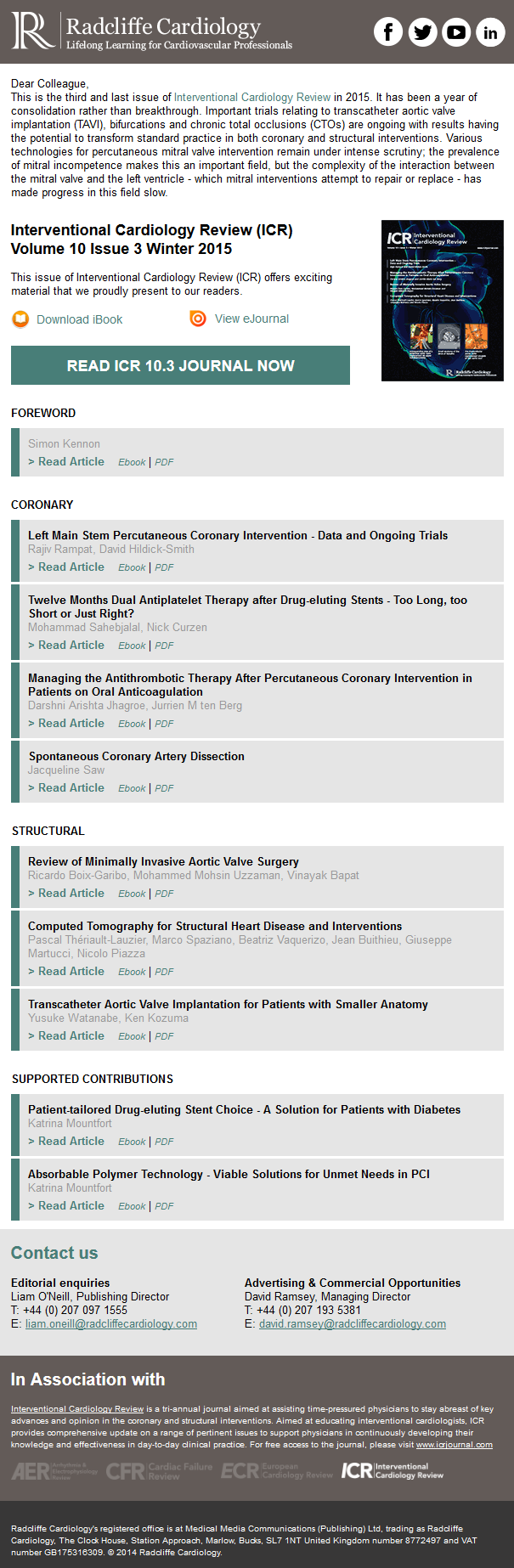 Interventional Cardiology Review - Volume 10 Issue 3