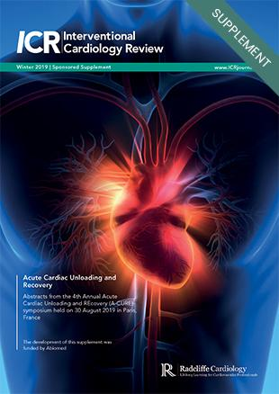 Acute Cardiac Unloading and Recovery - Winter 2019
