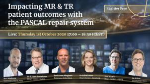 Impacting MR and TR patient outcomes with the PASCAL repair system