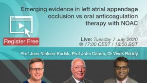 Emerging evidence in Left Atrial Appendage Occlusion vs. Oral anticoagulation therapy with NOAC