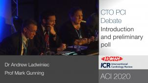 BCIS ACI 2020 Debate: CTO PCI has no prognostic benefit and it is a waste of time and money