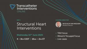 Transcatheter Interventions Online | Day 1 – Structural Heart Interventions