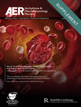 Novel Oral Anticoagulants (NOACs) Roundtable