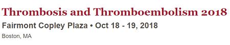 Thrombosis and Thromboembolism 2018