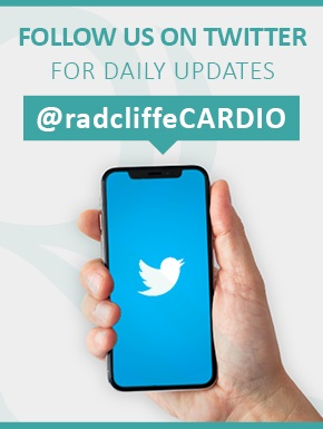 Twitter Follow on radcliffeCARDIO