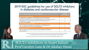 AHA 2019 : SGLT2 inhibitors in heart failure - guidelines, recent data and ongoing trails : Prof Carolyn Lam and Dr Akshay Desai