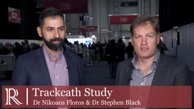 ESVS 2019: Trackcath System in endovascular repair of aortic aneurysms - Dr Nikolaos Floros and Dr Stephen Black