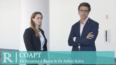 TCT 2019 : COAPT - Dr Suzanne J Baron and Dr Ankur Kalra