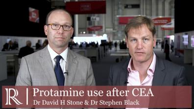 ESVS 2019: Protamine - Dr David H Stone and Dr Stephen Black