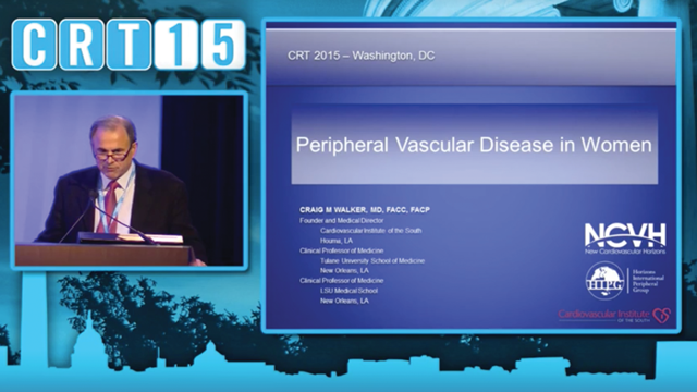 CRT 2015 - Women & Heart Disease: Prevention, Detection & Treatment