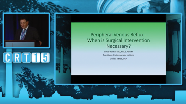 Peripheral Venous Reflux - Vinay Kumar, MD