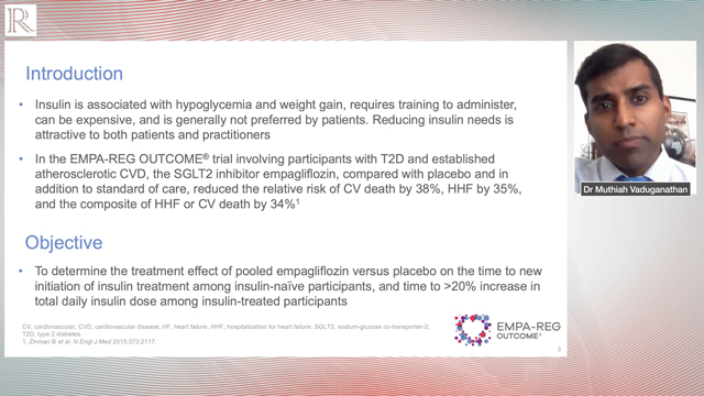 ADA 2020: Findings from EMPA-REG OUTCOME trial — Dr Muthiah Vaduganathan