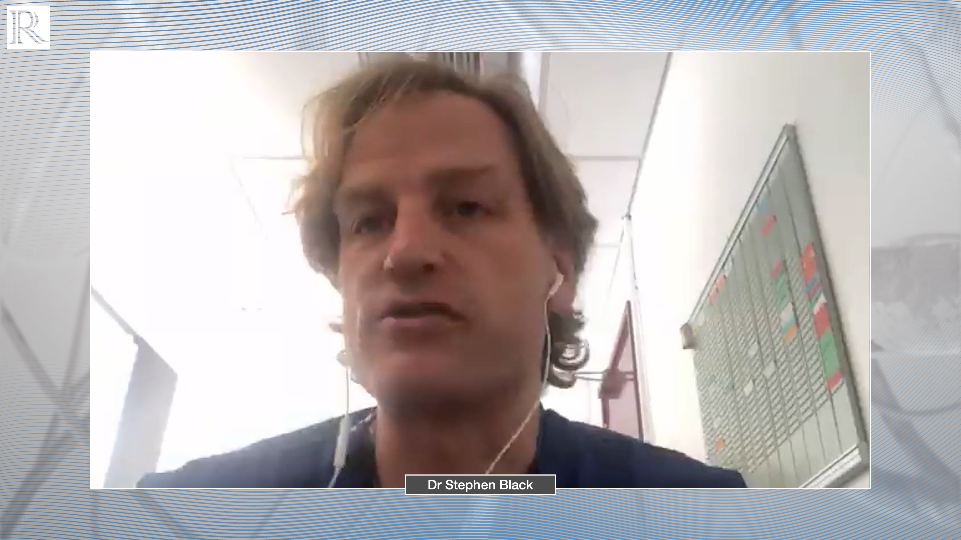 Twelve-month results from the ABRE study — Dr Stephen Black