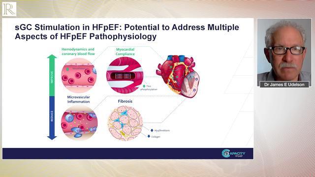 HFA 2020: CAPACITY HFpEF trial — Dr James Udelson