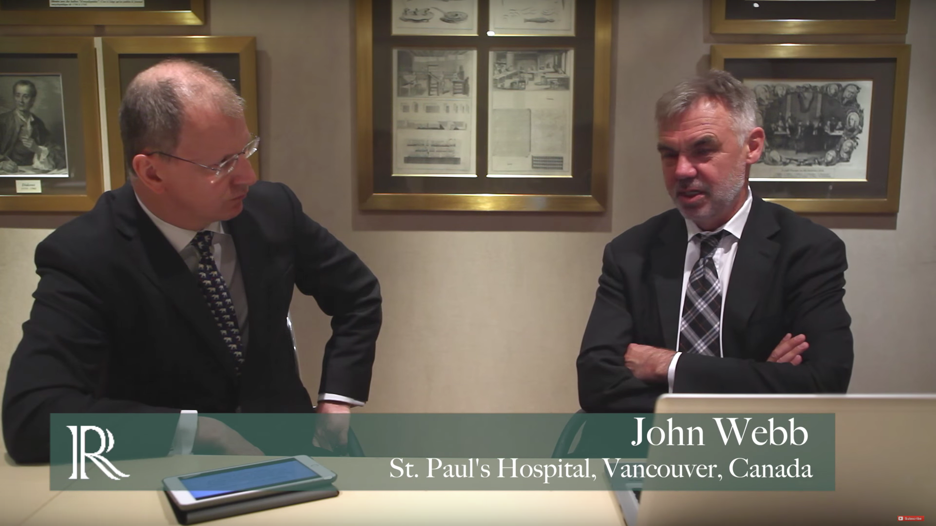 EuroPCR 2015: The SAPIEN 3 Trials - One Year Outcomes, With John Webb And Simon Kennon